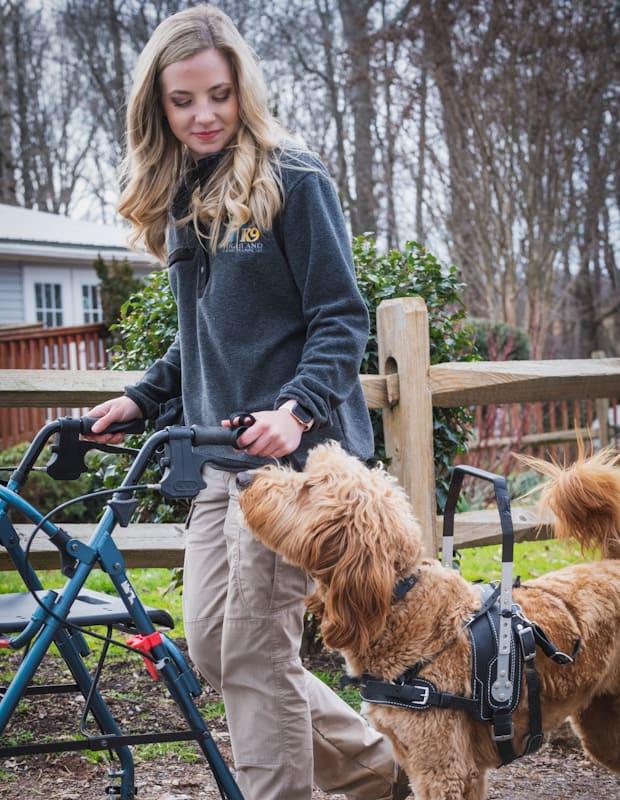 abby trogdon mobility service dog